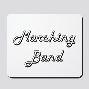 Marching Band Classic Retro Design Mousepad