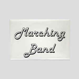 Marching Band Classic Retro Design Magnets