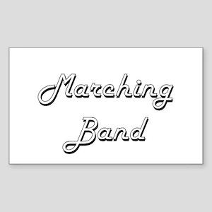 Marching Band Classic Retro Design Sticker