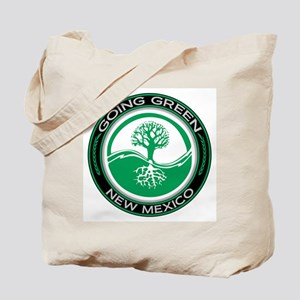 Going Green New Mexico (Tree) Tote Bag