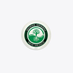 Going Green New Mexico (Tree) Mini Button