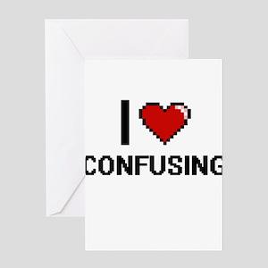 I love Confusing Digitial Design Greeting Cards