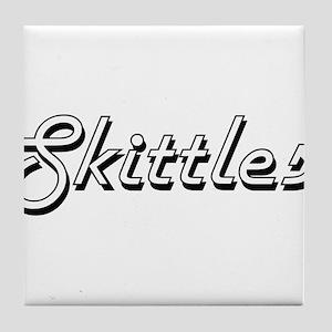 Skittles Classic Retro Design Tile Coaster