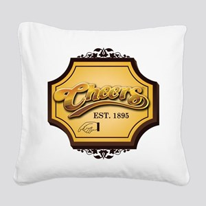 cheers Square Canvas Pillow