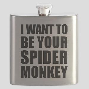 Your Spider Monkey II Flask