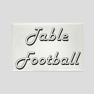 Table Football Classic Retro Design Magnets
