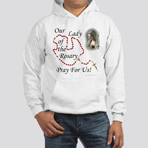 Our Lady of the Rosary Hooded Sweatshirt