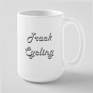 Track Cycling Classic Retro Design Mugs
