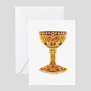 Celtic Grail Greeting Card