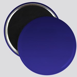 royal blue ombre Magnets