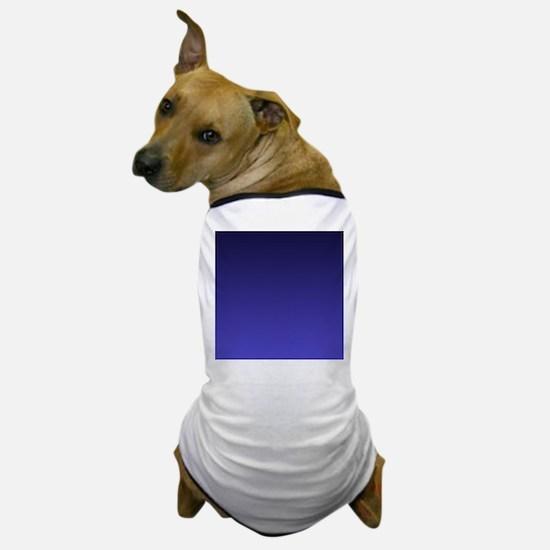 royal blue ombre Dog T-Shirt