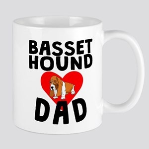Basset Hound Dad Mugs
