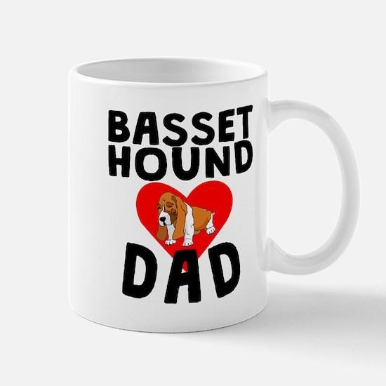 Basset Hound Dad Mugs