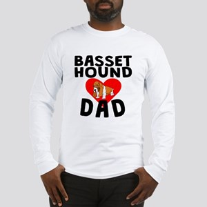 Basset Hound Dad Long Sleeve T-Shirt