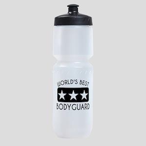 Worlds Best Bodyguard Sports Bottle