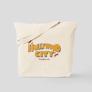 Hollywood City, California. Tote Bag
