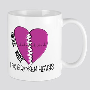 Cardiac Nurse Art Mugs