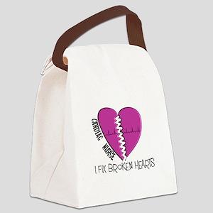 Cardiac Nurse Art Canvas Lunch Bag