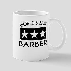 Worlds Best Barber Mugs