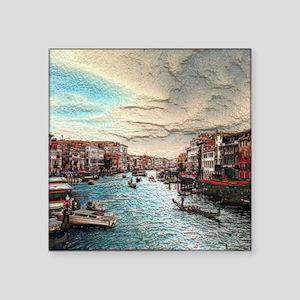 """Venice Square Sticker 3"""" x 3"""""""