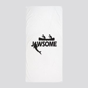 Jawsome Beach Towel