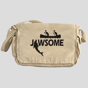 Jawsome Messenger Bag