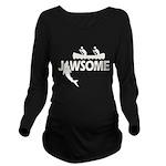 Jawsome Long Sleeve Maternity T-Shirt