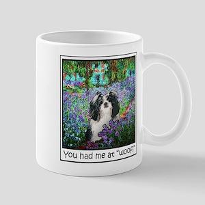 Shih Tzu Fine Art Eve Large Mugs