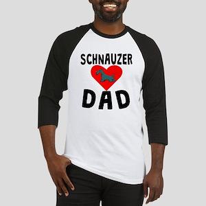 Schnauzer Dad Baseball Jersey