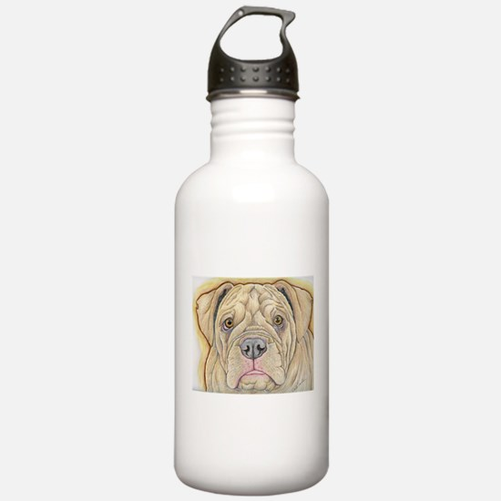 Olde English Bulldogge Water Bottle