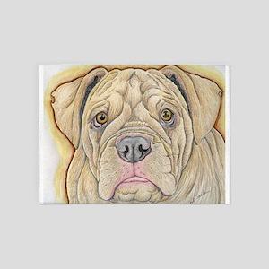 Olde English Bulldogge 5'x7'Area Rug