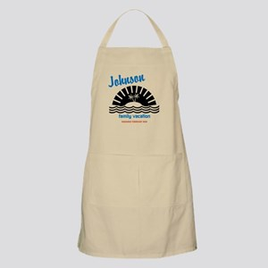 Tropical Family Vacation Apron