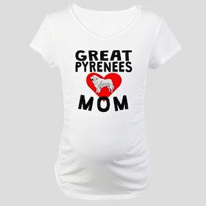 Great Pyrenees Mom Maternity T-Shirt