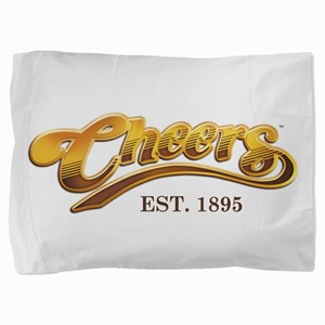 Cheers Est. 1895 Pillow Sham