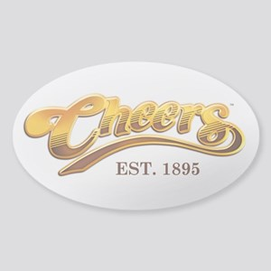 Cheers Est. 1895 Sticker (Oval)