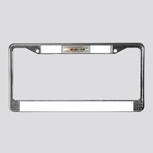 Welcome on Driftwood License Plate Frame