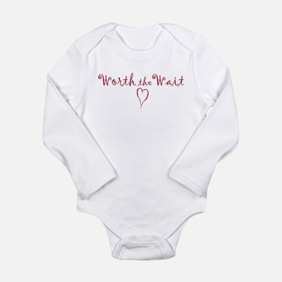 Cute Trying conceive Long Sleeve Infant Bodysuit