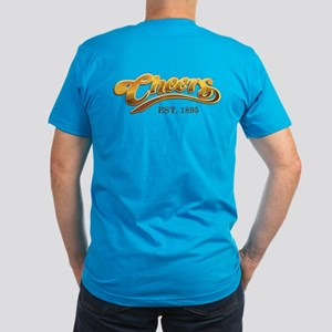 Cheers Est. 1895 Men's Fitted T-Shirt (dark)