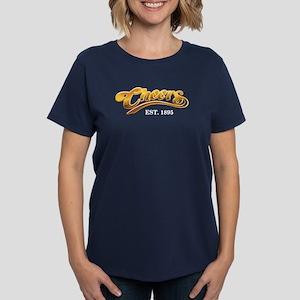 Cheers Est. 1895 Women's Dark T-Shirt