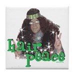 Hair Peace Tile Coaster