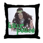 Hair Peace Throw Pillow