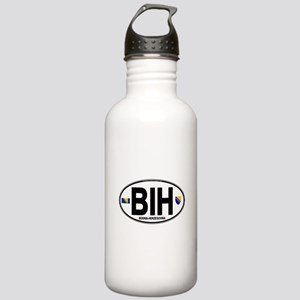 bih-oval Stainless Water Bottle 1.0L