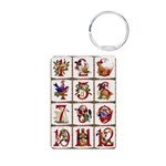 12 Days Of Christmas Keychains