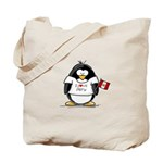 Peru Penguin Tote Bag