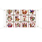 12 Days Of Christmas Banner
