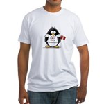 Peru Penguin Fitted T-Shirt