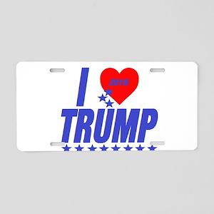 Donald Trump Aluminum License Plate