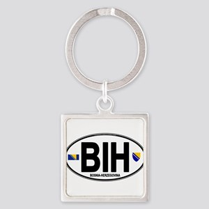 bih-oval Keychains