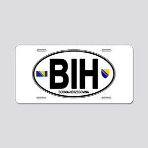 bih-oval Aluminum License Plate