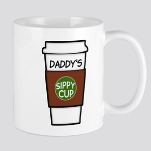 Daddy's Sippy cup coffee funny Mug